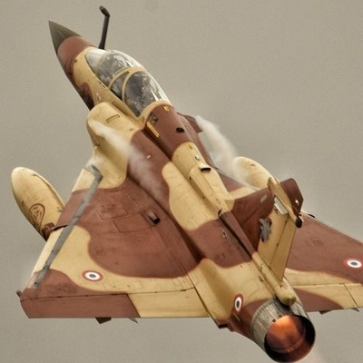 Mirage 2000 takes off to display