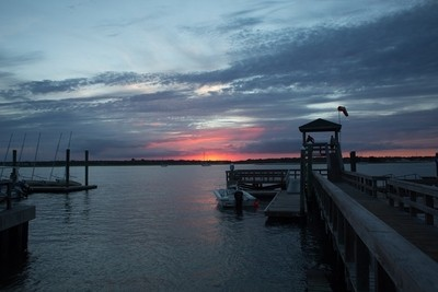 Banks Channel Sunset
