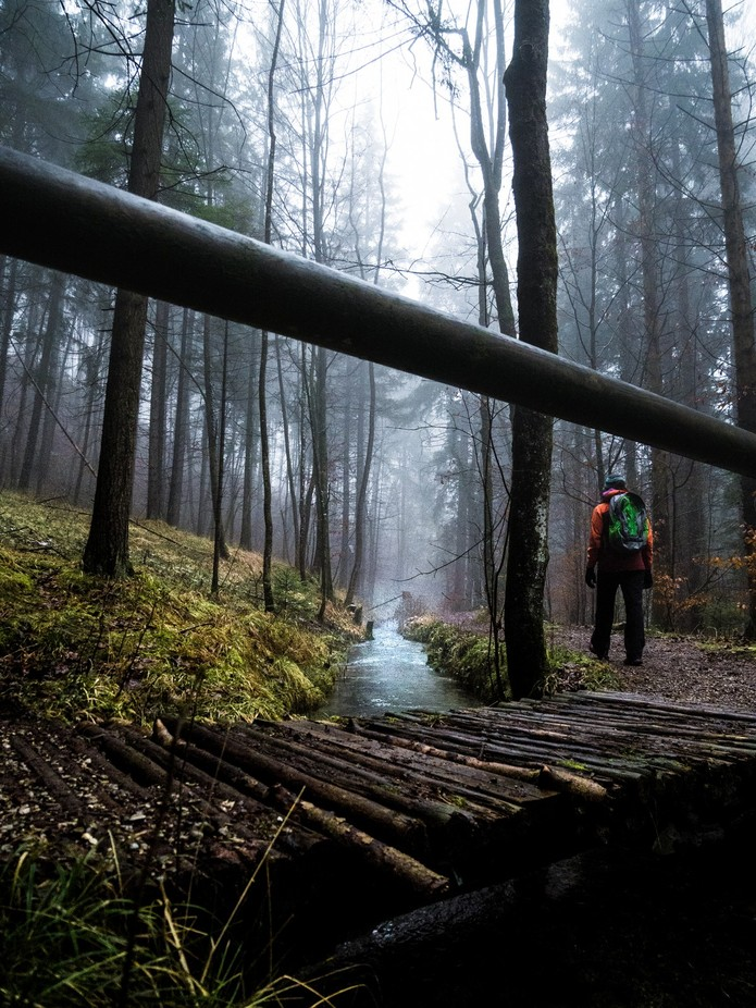 Moody Hike by Woodstokkz - Composition And Leading Lines Photo Contest