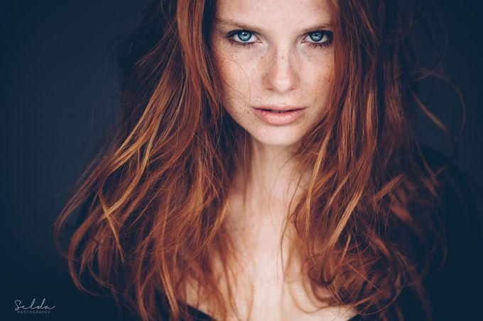 In your eyes by SeldaPhotography - Faces With Freckles Photo Contest