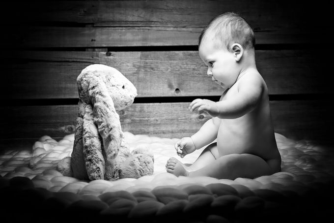 by tomtyson - Babies In Black And White Photo Contest
