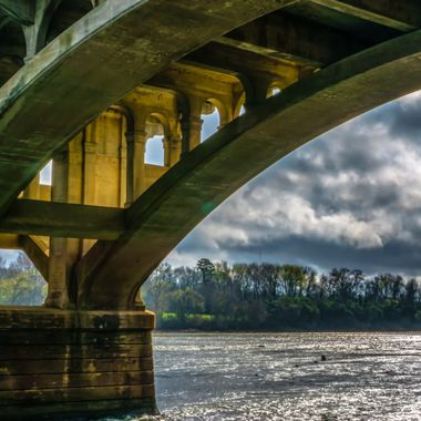 Clouds Over The Congaree