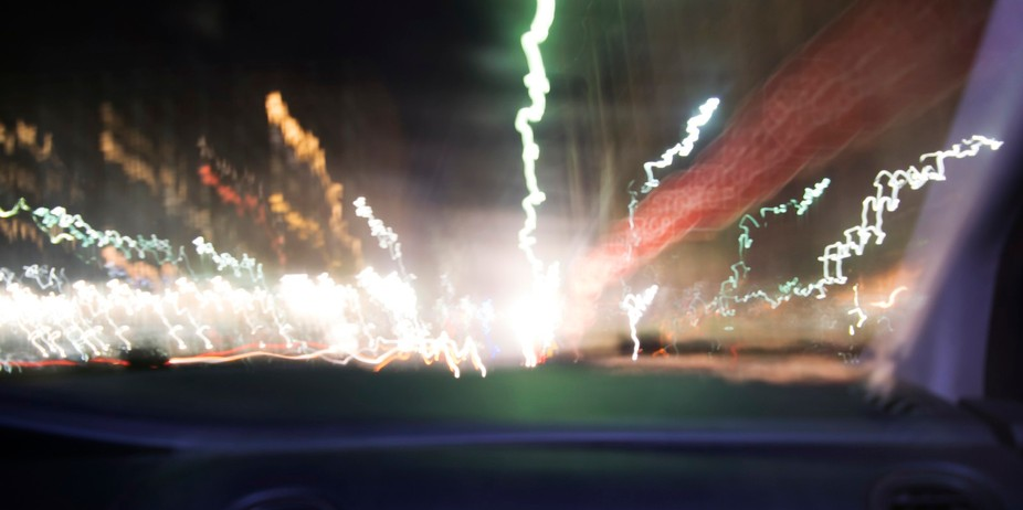 Long Exposure from inside a car