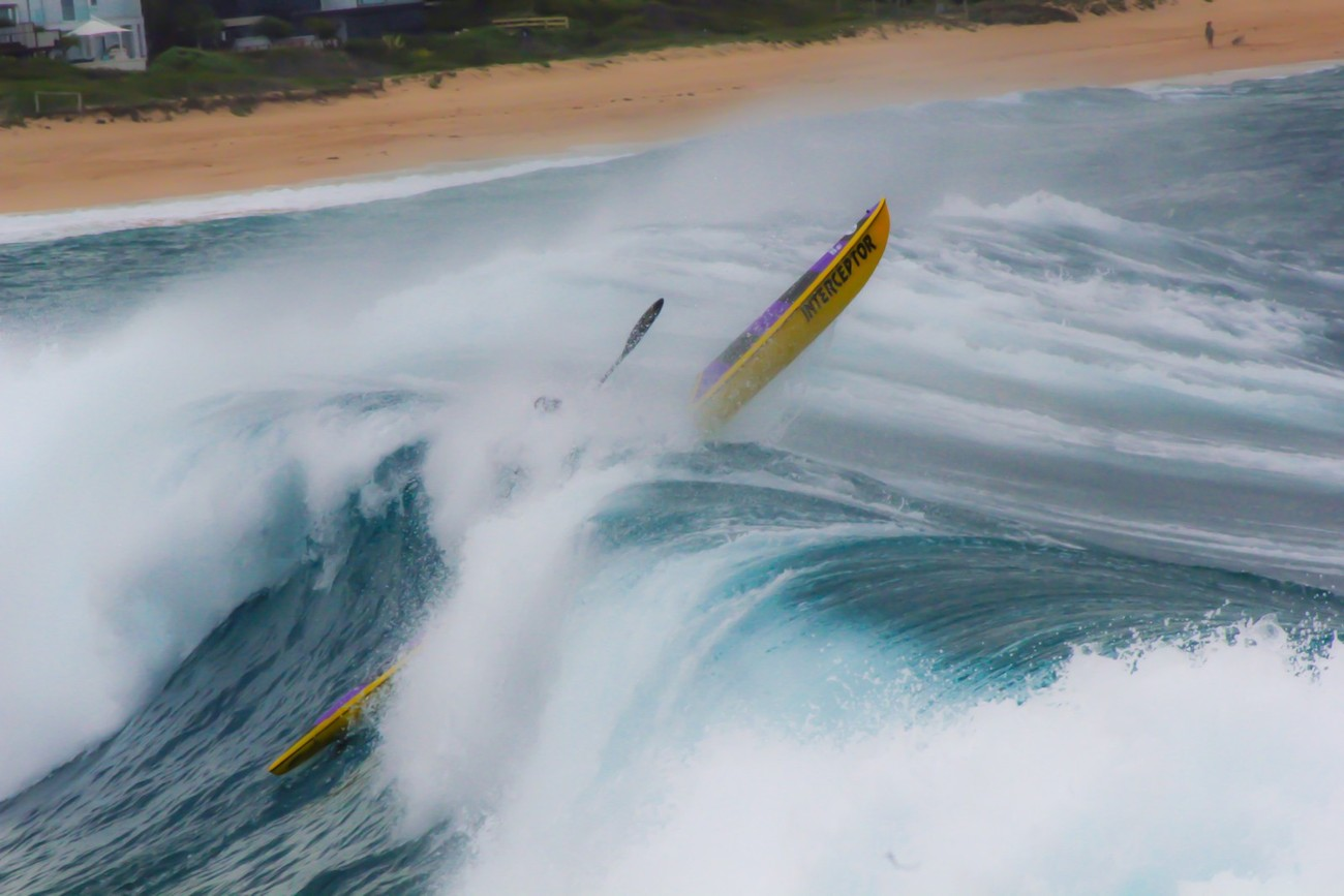 During recent storms the swell on some Sydney beaches was massive