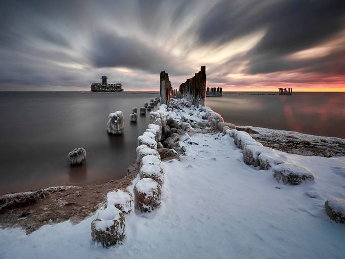 Winter  Baltic Sea II by jansieminski - Image Of The Month Photo Contest Vol 31