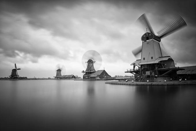 Windmill Zaanse Schans by matejkovac - Image Of The Month Photo Contest Vol 31