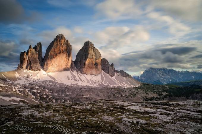 Three peaks of Lavaredo by methariorn78 - Image Of The Month Photo Contest Vol 31