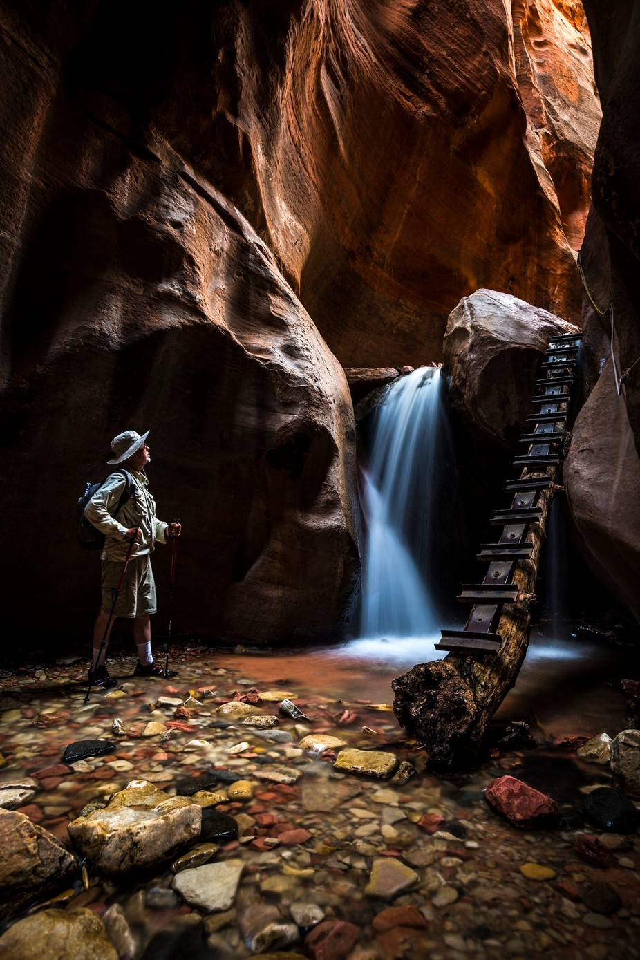 Kanarra Creek by jeremystevens_3464 - People And Waterfalls Photo Contest