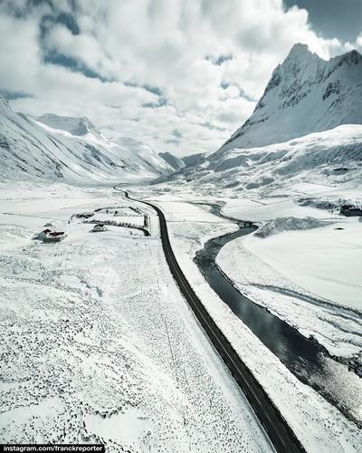 icelandic aerial view