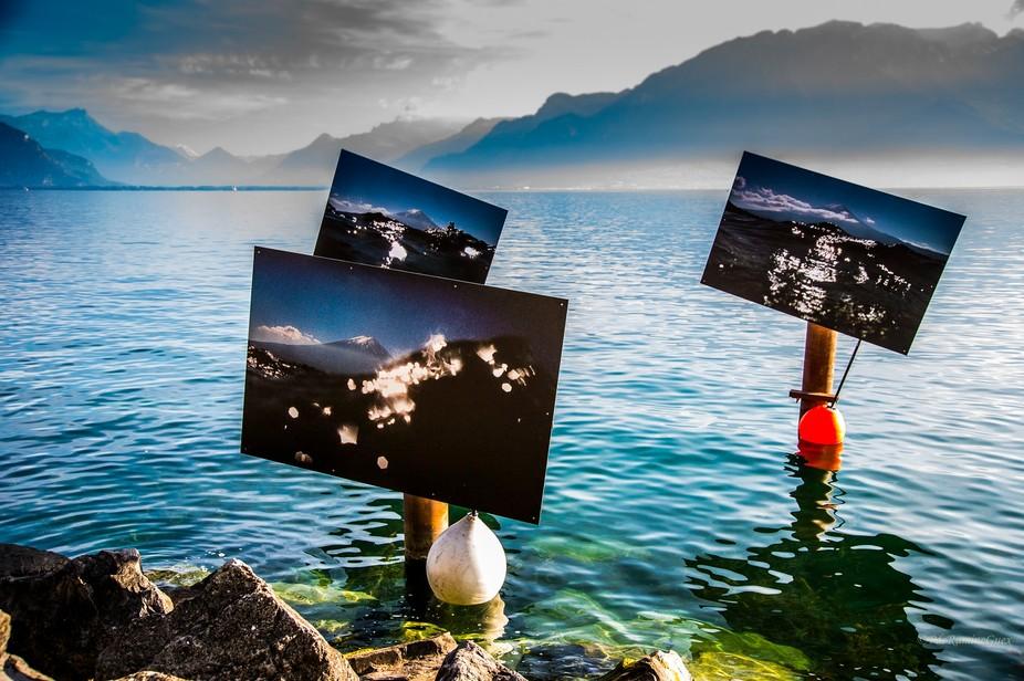 The Lake Art Festival in Vevey = Festi Images à Vevey dans le lac Léman