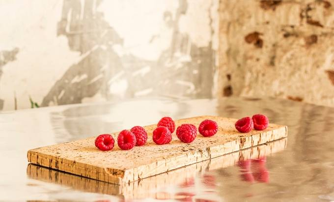 raspberries by georgiaark - Looks Delicious Photo Contest