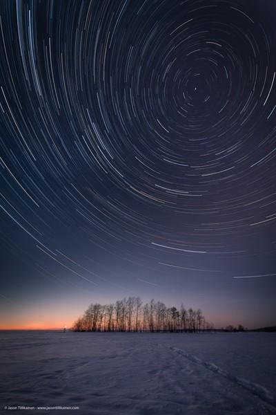 Jason Tiilikainen - Star Trails In Joensuu