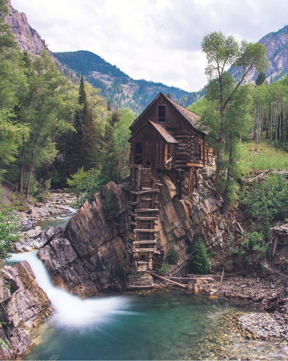 Crystal Mill in Colorado by dearabbybird - Abandoned Photo Contest