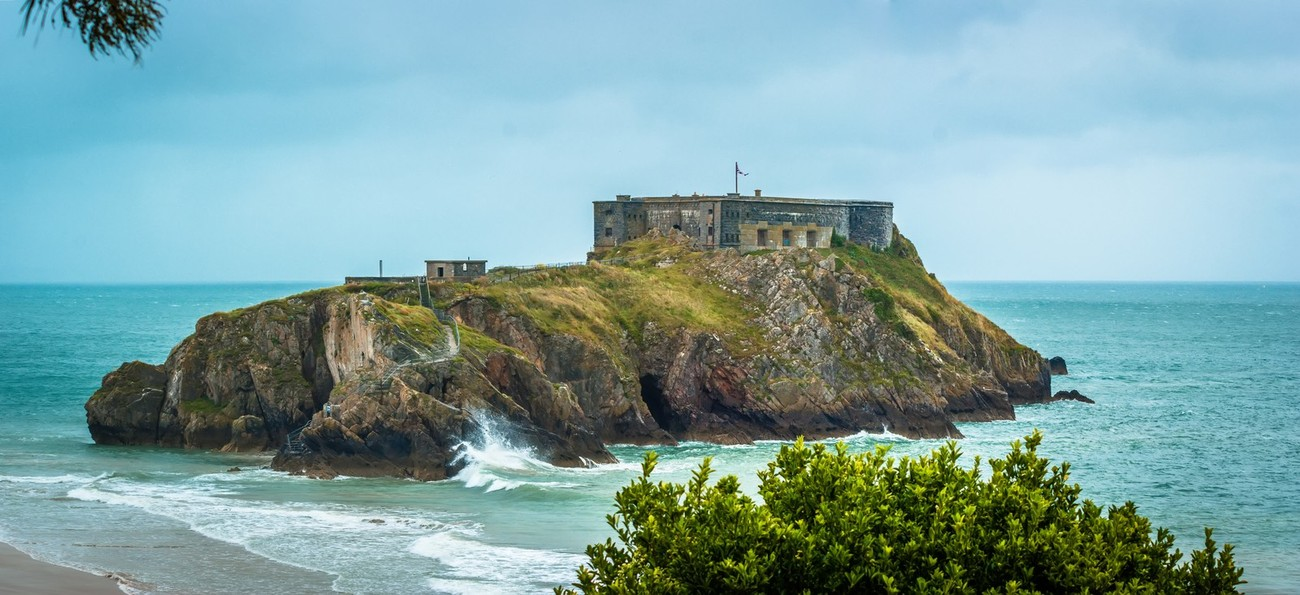 St Catherine's Island and Fort, Tenby, South Wales