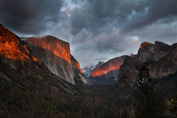 Approaching Snowstorm - Yosemite by josephgardner - Image Of The Month Photo Contest Vol 31