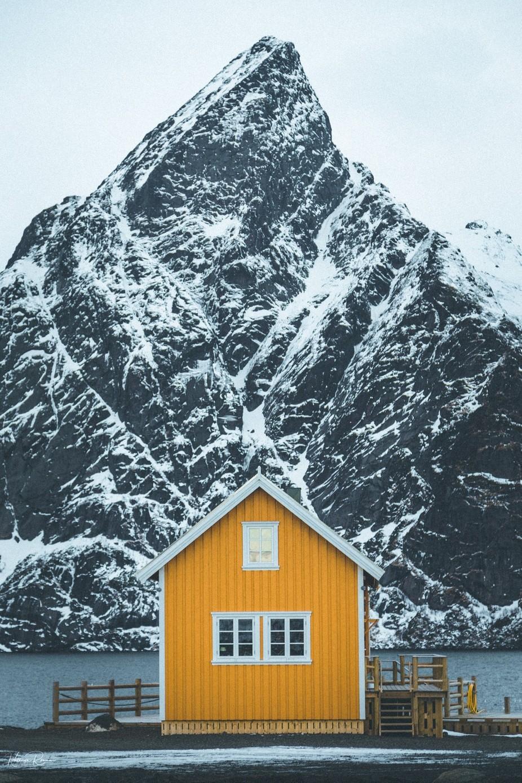 Lofoten Solitude by rowanke - We Love The Winter Photo Contest