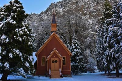 Stunning Place of Worship in Yosemite National Park