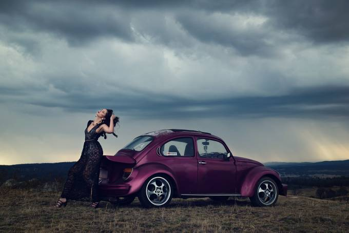 stormy glam by debnieuwerth - My Favorite Car Photo Contest