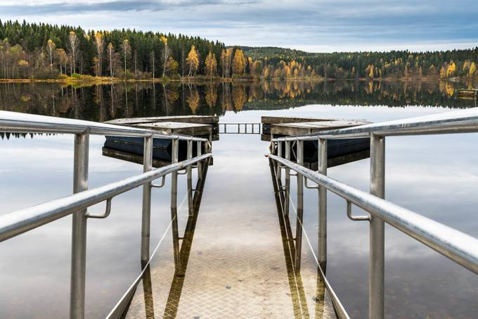 Autumn at Songsvann by carlostojo - Composition And Leading Lines Photo Contest