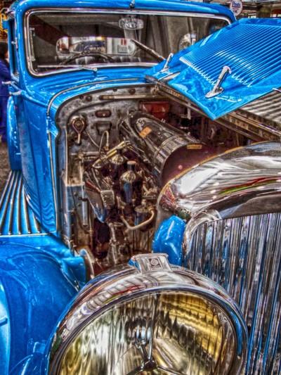Donald Campbell's Bentley