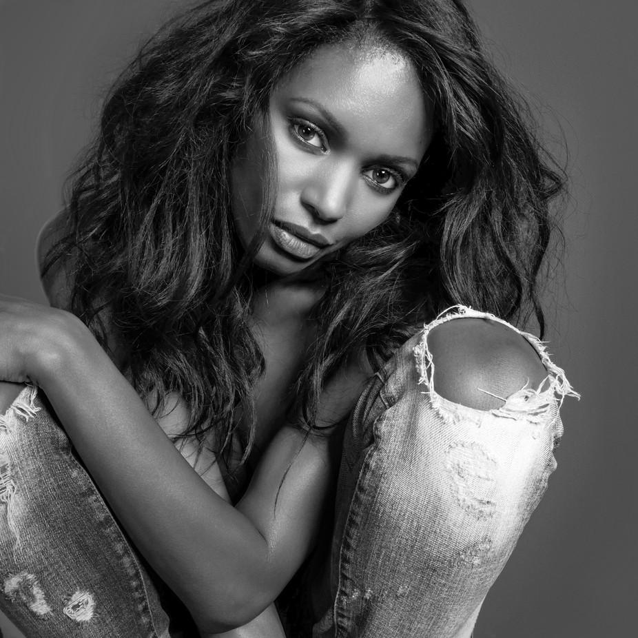 Natasha Portrait by markguy_1809 - Black And White Female Portraits Photo Contest