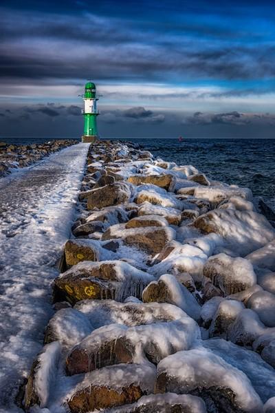 Warnemünde Westmole, Lighthouse