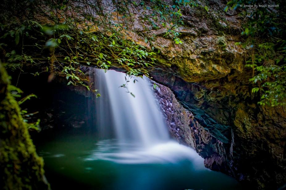 Waterfall in Queensland Australia