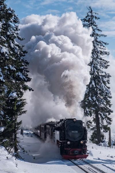 Steam train to mount Brocken