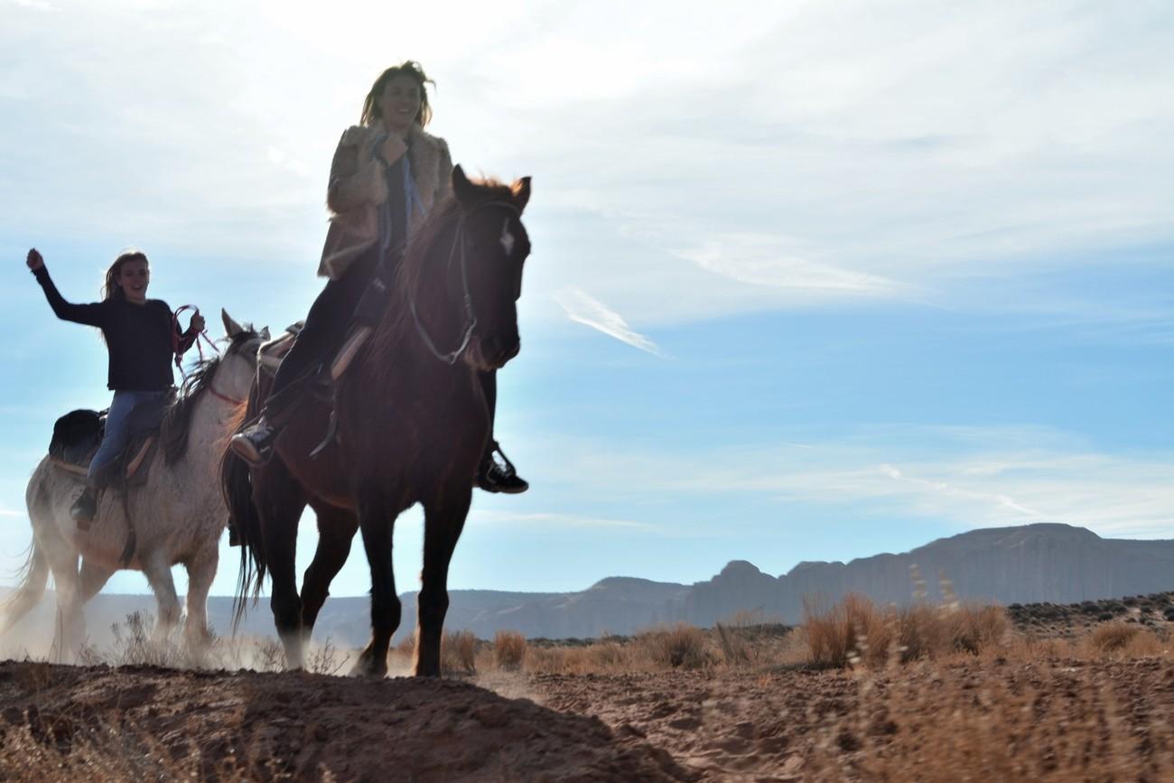 Chevauchée joyeuse, Monument Valley !