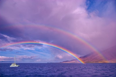 One of the Most Beautiful Double Rainbows