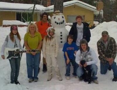 Funky Festive Family