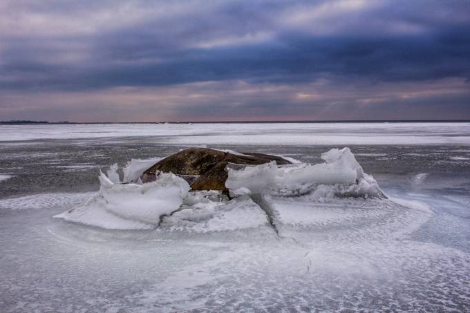 The Rock by VGFPhotography - The Cold Winter Photo Contest