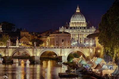 Vista del Vaticano HDR