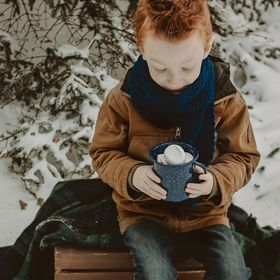 Minnesota winter days need hot chocolate and little gingers :)