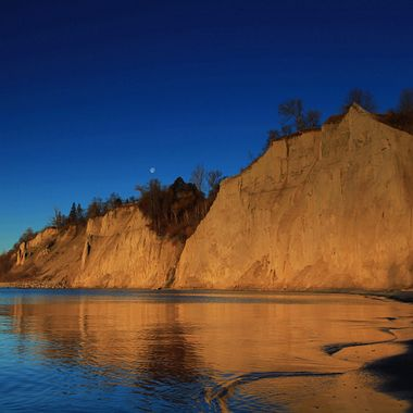 Scarborough Bluffs, Toronto, Canada.