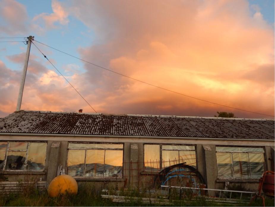 Rural building on the isle of skye