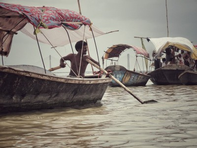 Boat on Ganges