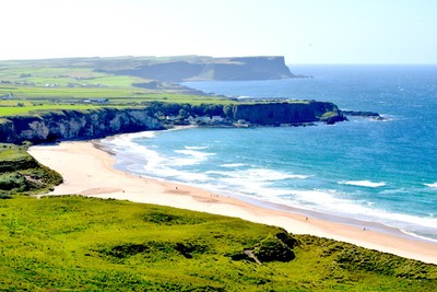 Irish western coastline (Atlantic Ocean)