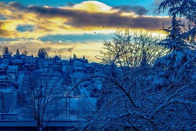 Sunrise on the SnowDay