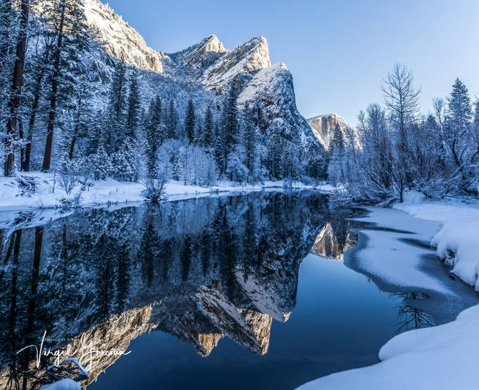 Three Brothers Waking from a Winter Nap by Imagico - The Cold Winter Photo Contest
