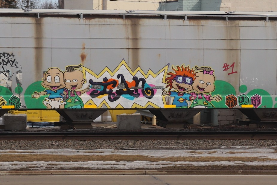 I had just got my first dslr this day and went to the local library and saw a train coming and sa...