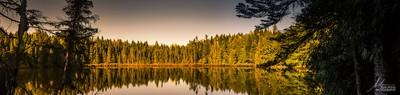 Lac Gauthier à l'automne