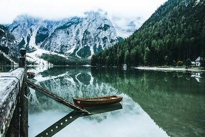 Braies lake