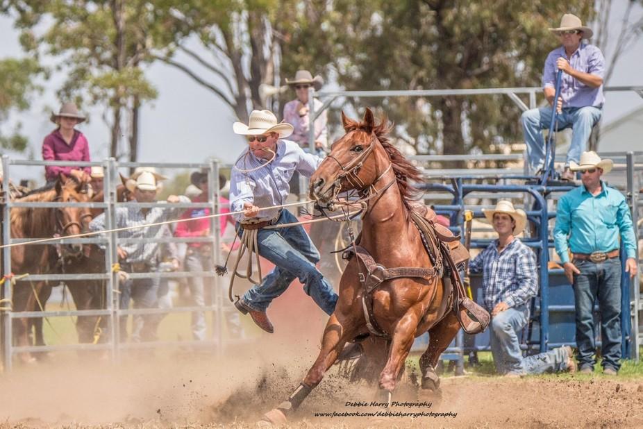 Millmerran Show 2018 Rodeo -1692a