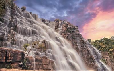 The Sunset Falls