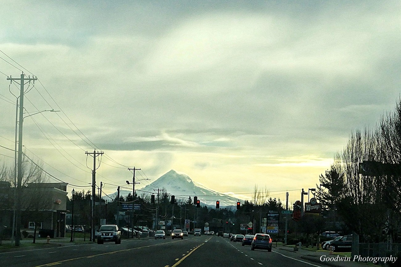 Mt. Hood From I-84