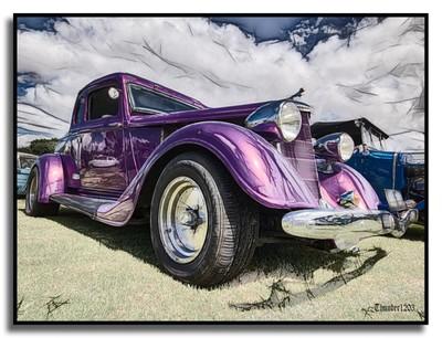 Purple Hotrod