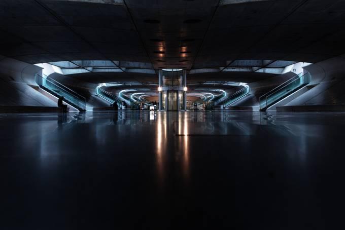 Gare do oriente by Dssfnn - Futuristic Photo Contest