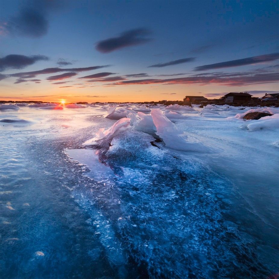 Arctic Beach by thomastepstadberge - The Cold Winter Photo Contest