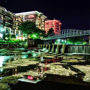 Reedy River in Greenville, South Carolina